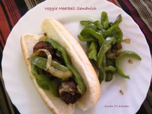 Veggie Meatball Sandwich