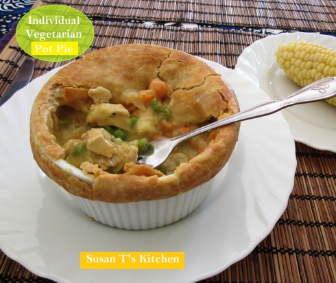 Vegetarian Individual Pot pies