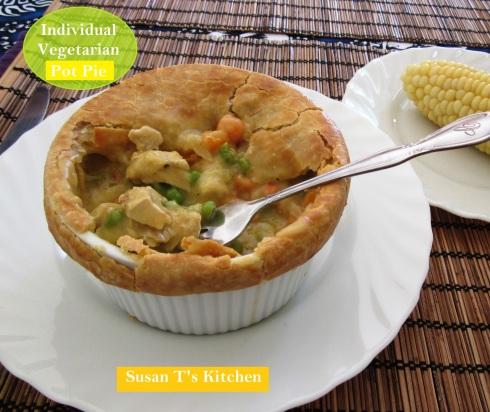 Vegetarian Individual Pot pies
