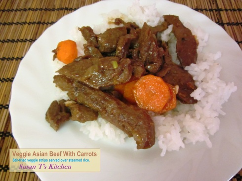 Vegetarian Asian Beef