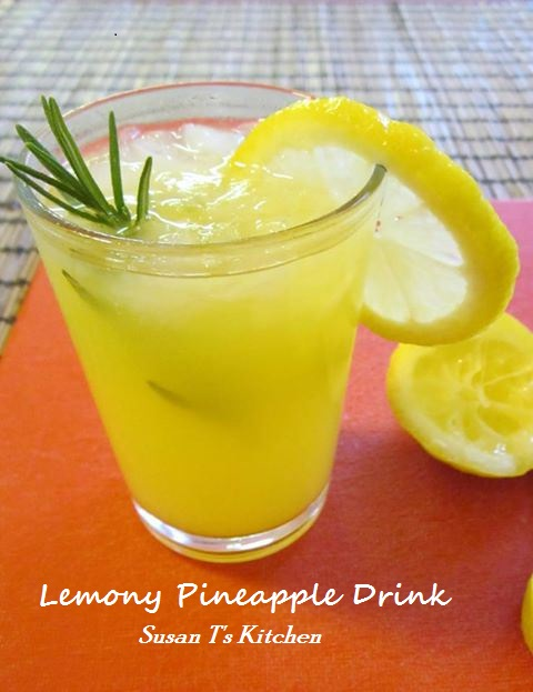Lemony Pineapple Drink